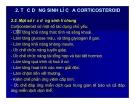 Bài giảng chuyển hóa các chất - Sử dụng corticoid trong lâm sàng part 2