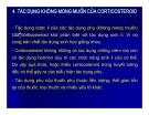 Bài giảng chuyển hóa các chất - Sử dụng corticoid trong lâm sàng part 4