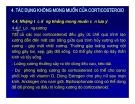 Bài giảng chuyển hóa các chất - Sử dụng5 corticoid trong lâm sàng part