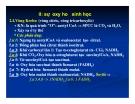 Bài giảng chuyển hóa các chất - Đại cương chuyển hoá & sự oxy hoá khử sinh học part 2