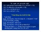 Bài giảng chuyển hóa các chất - Đại cương chuyển hoá & sự oxy hoá khử sinh học part 3