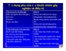 Bài giảng điều trị HIV - Chăm sóc giảm nhẹ cho bệnh nhân HIV/AIDS  part 6