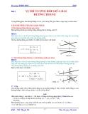 Giáo trình Hình họa - Bài 3 & 4