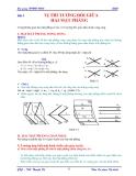 Giáo trình Hình họa - Bài 5 & 6