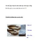 Tái chế giày búp bê xinh xinh dạo chơi ngày nắng