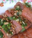 Nem chua Thanh Hoá