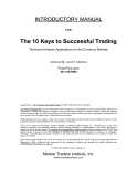 The 10 Keys to Successful Trading phần 1