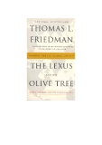 the lexus and the olive tree thomas l friedman phần 1