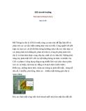 GIS và môi trường