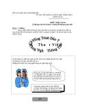 ĐỀ THI CHỨNG CHỈ TIN HỌC TRÌNH ĐỘ A - ĐỀ 2