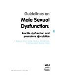 Guidelines on - Male Sexual Dysfunction