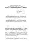 Báo cáo khoa học: PHƯƠNG PHÁP Q-LEARNING VÀ ỨNG DỤNG CỦA PHƯƠNG PHÁP NÀY TRONG VIỆC GIẢI QUYẾT MỘT SỐ BÀI TOÁN TÌM ĐƯỜNG