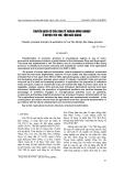 """Báo cáo khoa học: """"chuyển dịch cơ cấu kinh tế ngành nông nghiệp ở huyện yên thế, tỉnh bắc giang"""""""