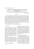 """Báo cáo khoa học: """"Nghiên cứu qui trình nhân nhanh in vitro cây đu đủ (Carica papaya L)"""""""