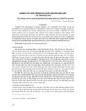 """Báo cáo khoa học: """"những thay đổi trong sản xuất nguyên liệu giấy tại tỉnh Phú Thọ """""""