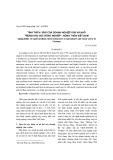 """Báo cáo khoa học: """"Tính thích ứng của Doanh nghiệp vừa và nhỏ trong khu vực nông nghiệp – nông thôn Việt Nam"""""""