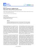 "Báo cáo sinh học: ""Gene expression neighborhoods"""