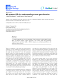 """Báo cáo sinh học: """"All systems GO for understanding mouse gene function"""""""