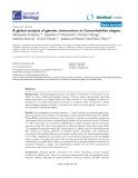"Báo cáo sinh học: ""A global analysis of genetic interactions in Caenorhabditis elegans"""