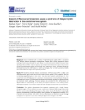 """Báo cáo sinh học: """"Systemic 5-fluorouracil treatment causes a syndrome of delayed myelin destruction in the central nervous system"""""""