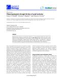 "Báo cáo sinh học: ""bserving bacteria through the lens of social evolution"""
