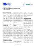 """Báo cáo sinh học : """"Q&A: Genetic analysis of quantitative traits"""""""