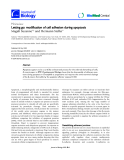"""Báo cáo sinh học: """"Letting go: modification of cell adhesion during apoptosis"""""""