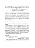 """Báo cáo y học: """"Định lượng đồng thời các hoạt chất sinh học trong dược liệu Kim ngân (Linocere Japonica) bằng phương pháp sắc ký lỏng hiệu năng cao"""""""