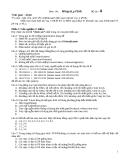 Đề thi thử mạng máy tính - Đề 4