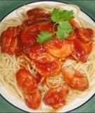 Mì Ý sốt xúc xích Mì Ý là món rất dễ làm