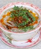 Xúp cua nấm linh chi
