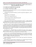 ĐỒ ÁN : XỬ LÝ NƯỚC THẢI NHÀ MÁY SẢN XUẤT HÓA CHẤT BIÊN HÒA  CHƯƠNG III : XÁC ĐỊNH MỨC ĐỘ NHIỄM BẨN TRONG NƯỚC THẢI VÀ ĐỀ XUẤT PHƯƠNG ÁN XỬ LÝ