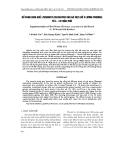 """Báo cáo nông nghiệp:""""  Bổ SUNG GIUN QUế (Perionyx excavatus) CHO Gà THịT (Hồ x L-ơng Ph-ợng) Từ 4 - 10 TUầN TUổI"""""""