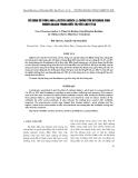 """Báo cáo nông nghiệp: """"Sử DụNG Bồ CÔNG ANH (LACTUCA INDICA L.) CHốNG TồN DƯ KHáNG SINH ENROFLOXACIN TRONG ĐIềU TRị TIÊU CHảY ở Gà"""""""