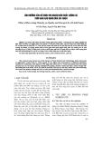 """Báo cáo nông nghiệp: """"ảnh hưởng của độ chín thu hoạch đến chất lượng và thời gian bảo quản vải thiều"""""""
