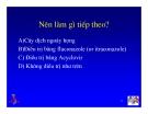 Bài giảng điều trị HIV : Tiếp cận các hội chứng tiêu hoá hay gặp: Nuốt đau và đau bụng part 3