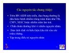 Bài giảng điều trị HIV : Tiếp cận các hội chứng tiêu hoá hay gặp: Nuốt đau và đau bụng part 6