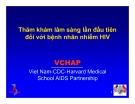 Bài giảng điều trị HIV : Thăm khám lâm sàng lần đầu tiên đối với bệnh nhân nhiễm HIV part 1