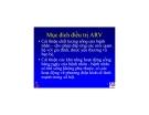 Bài giảng điều trị HIV : Kháng retrovirus part 7