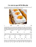 Các món ăn ngon bổ từ đậu phụ
