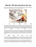 Tổng kết 7 lỗi trầm trọng khi ăn sữa chua