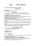 TÓM TẮT VẬT LÝ HK II (11) - PHẦN I CẢM ỨNG ĐIỆN TỪ