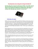 TÀI LIỆU BẢO VỆ  VÀ TĂNG TỐC HỆ ĐIỀU HÀNH