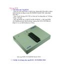 Giới thiệu máy nạp ROM