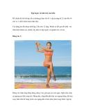 Tập luyện với khí trời của biển