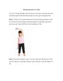 Bài tập giúp ngực nở eo thon