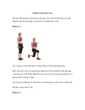 8 động tác khỏe đẹp với tạ
