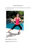 Tập thể dục cho từng bộ phận cơ thể