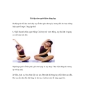 Bài tập cho người khỏe dáng đẹp