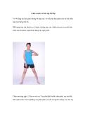 Khỏe mạnh với bài tập thể dục